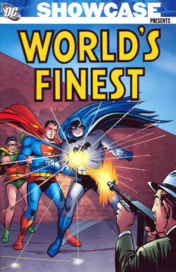 Cover for the Showcase Presents: World's Finest Vol. 1 Trade Paperback