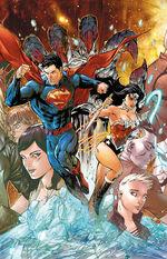Superman Wonder Woman Vol 1 1 Textless