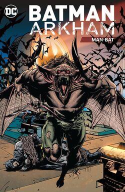 Cover for the Batman Arkham: Man-Bat Trade Paperback