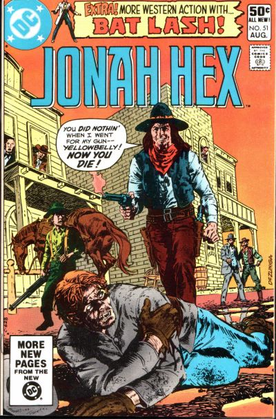 Book Cover Art Database : Jonah hex vol dc database fandom powered by wikia