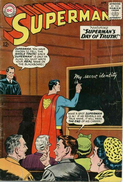 Before Truth 1 Superman Vol