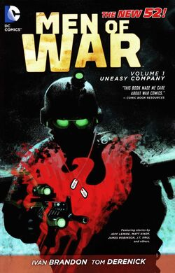 Cover for the Men of War: Uneasy Company Trade Paperback