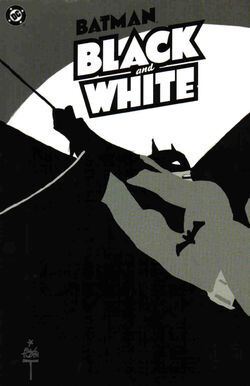 Cover for the Batman: Black and White Vol 1 Trade Paperback