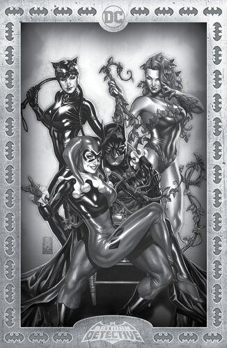 Torpedo Comics Exclusive B&W Mark Brooks Variant
