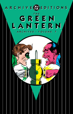 Cover for the The Green Lantern Archives Vol. 7 Trade Paperback