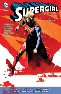 Cover for the Supergirl: Out of the Past Trade Paperback