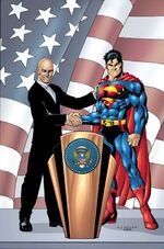 Luthor wins the Presidency