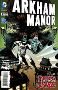 Arkham Manor Vol 1 2