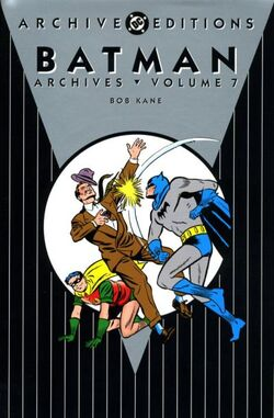 Cover for the Batman Archives Vol 7 Trade Paperback