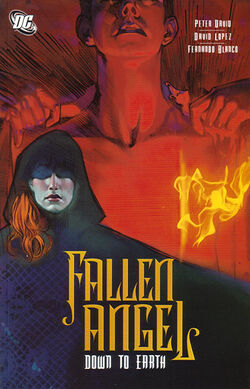 Cover for the Fallen Angel: Down to Earth Trade Paperback