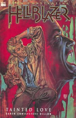 Cover for the Hellblazer: Tainted Love Trade Paperback