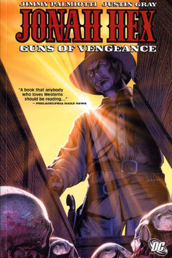 Cover for the Jonah Hex: Guns of Vengeance Trade Paperback