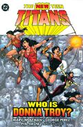 New Teen Titans Who is Donna Troy
