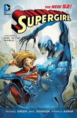 Cover for the Supergirl: Girl in the World Trade Paperback