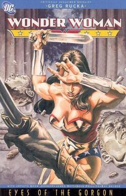 Cover for the Wonder Woman: Eyes of the Gorgon Trade Paperback