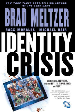 Cover for the Identity Crisis Trade Paperback