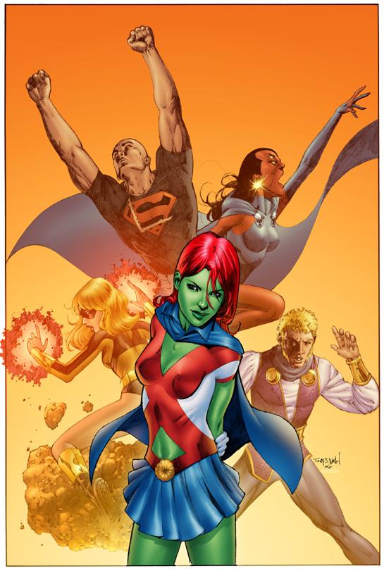 M'gann M'orzz (New Earth)   DC Database   FANDOM powered by Wikia