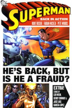 Cover for the Superman: Back in Action Trade Paperback