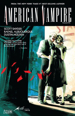 Cover for the American Vampire: Vol. 5 Trade Paperback
