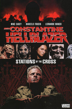 Cover for the Hellblazer: Stations of the Cross Trade Paperback