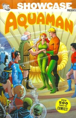 Cover for the Showcase Presents: Aquaman Vol. 2 Trade Paperback