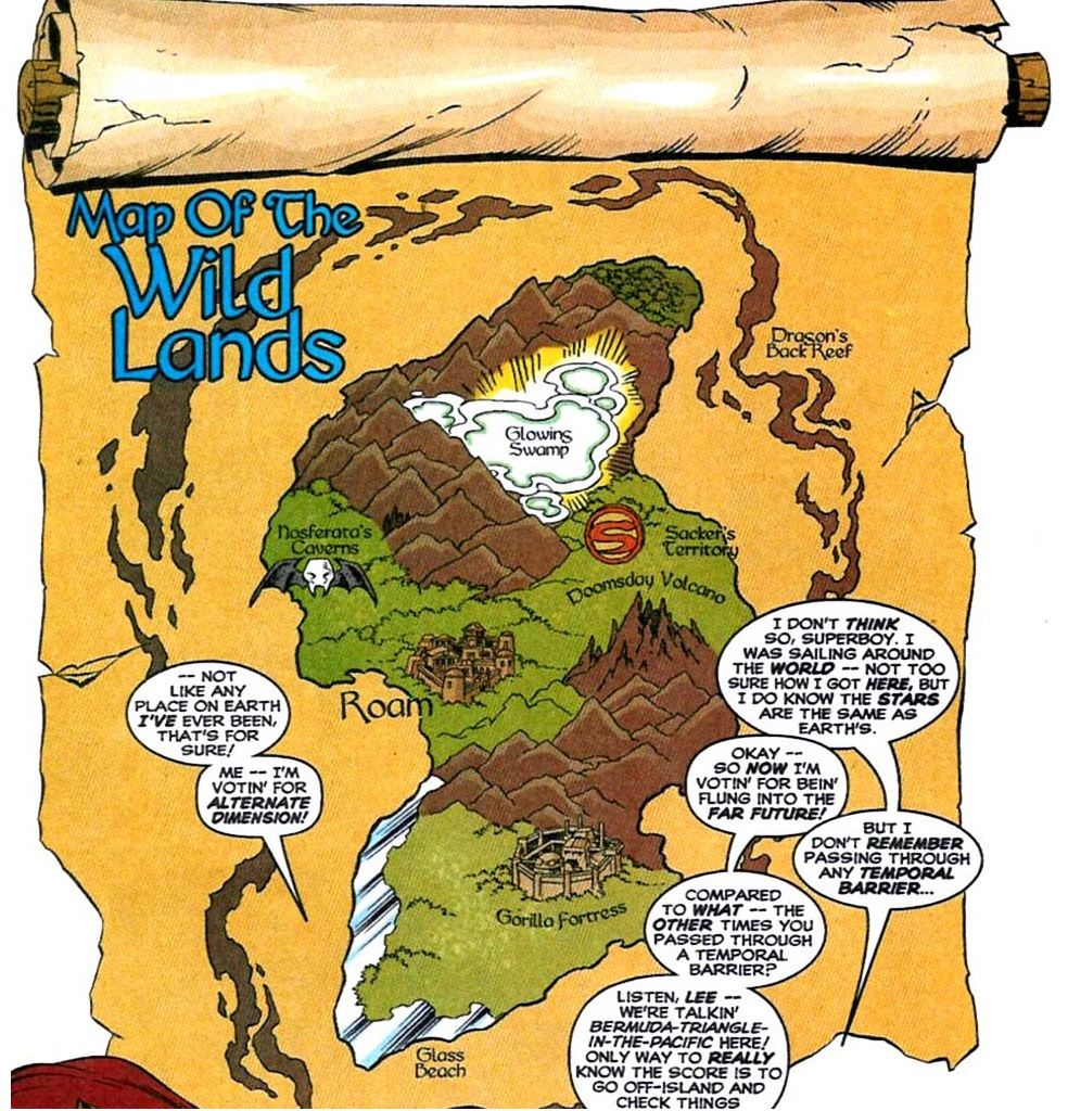 Image - Wild Lands Map.jpg | DC Database | FANDOM powered by Wikia