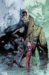 Batman Hush Art