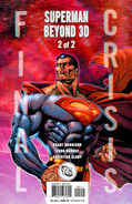 Final Crisis Superman Beyond Vol 1 2 3D Variant