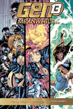 Cover for the Gen 13: Meanwhile... Trade Paperback
