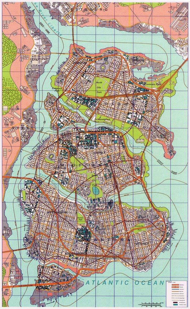 Image - Nolan Gotham Map-731238.jpg | DC Database | FANDOM powered ...