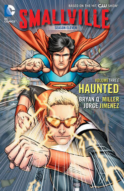 Cover for the Smallville Season 11: Haunted Trade Paperback