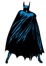 Early Depiction of Batman