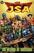 JSA The Return of Hawkman TP