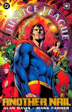 Cover for the Justice League: Another Nail Trade Paperback