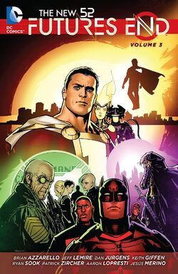 Cover for the The New 52: Futures End Vol. 3 Trade Paperback