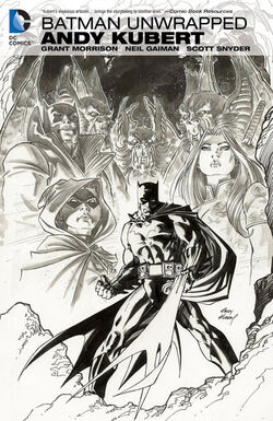 Cover for the Batman Unwrapped by Andy Kubert Trade Paperback