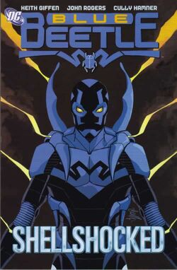 Cover for the Blue Beetle: Shellshocked Trade Paperback