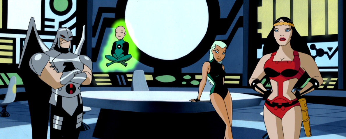 Justice League Unlimited episode. Wonderpower.