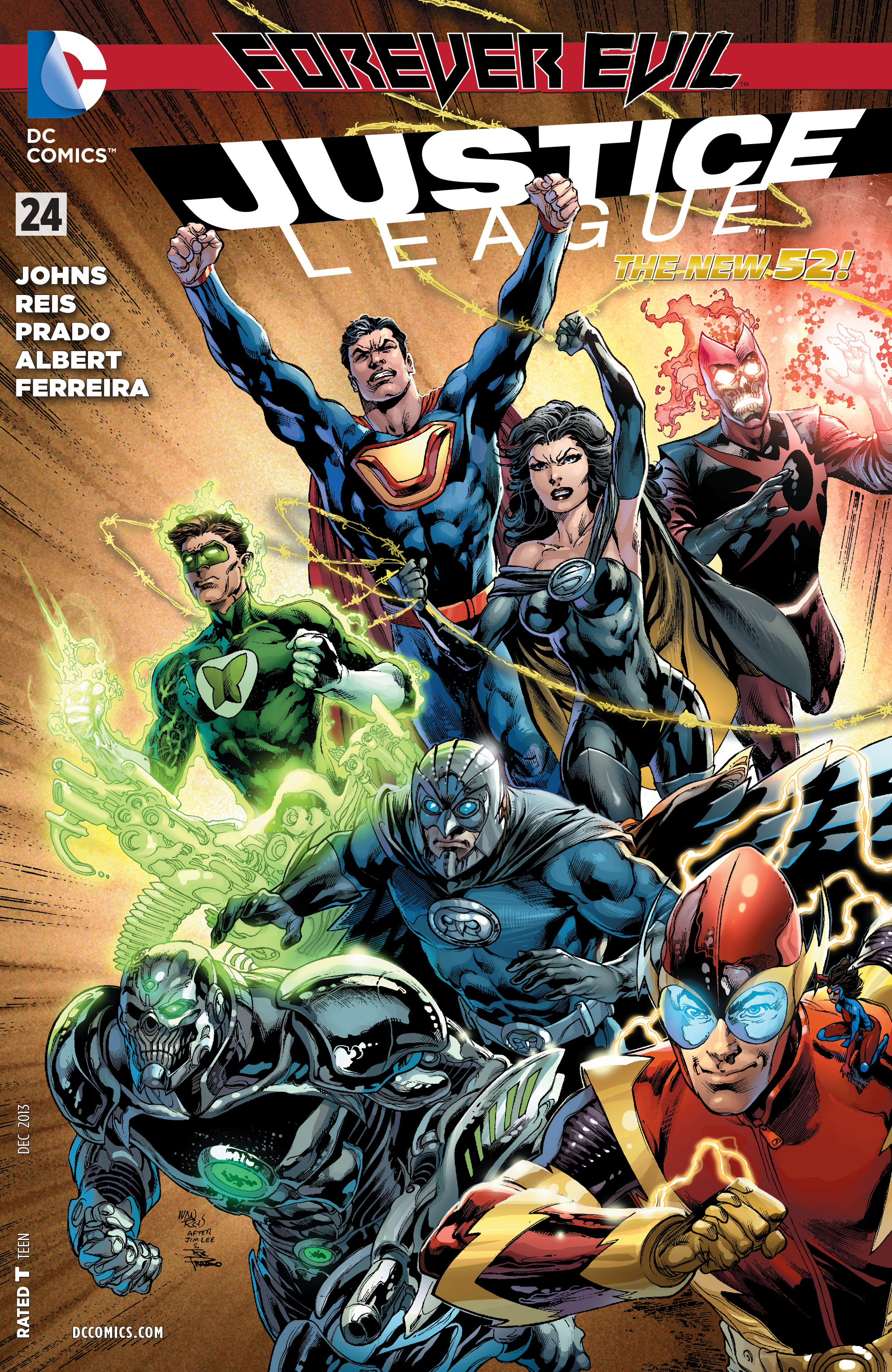 Justice League Vol 2 24 | DC Database | FANDOM powered by ...