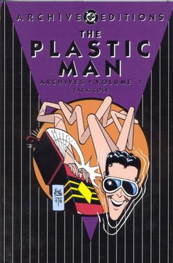 Cover for the Plastic Man Archives Vol. 1 Trade Paperback