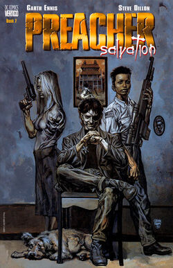 Cover for the Preacher: Salvation Trade Paperback