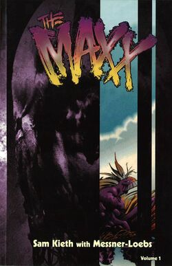 Cover for the The Maxx Vol. 1 Trade Paperback