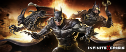 Infinite Crisis video game splash