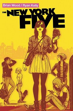 Cover for the New York Five Trade Paperback