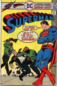 Clark Kent Forever-- Superman Never!