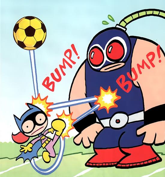 Bane Tiny Titans Dc Database Fandom Powered By Wikia