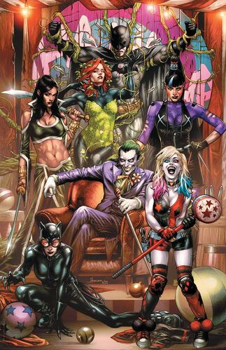Unknown Comics Exclusive Textless Jay Anacleto Variant