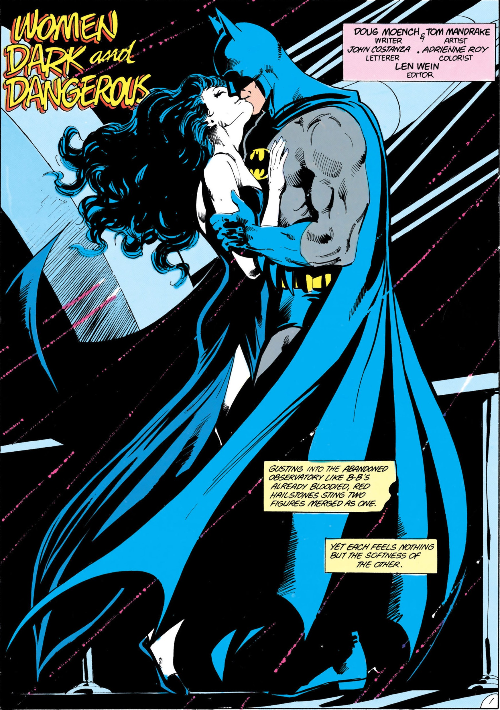 Sex acts between catwoman and superman