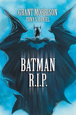 Cover for the Batman R.I.P. Trade Paperback