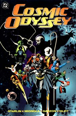 Cover for the Cosmic Odyssey Trade Paperback